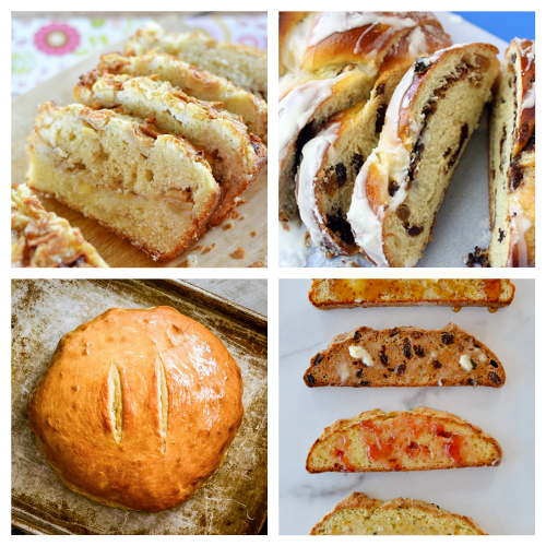 20 Easy Homemade Breads: Dessert Breads + Sandwich Bread Recipes- These delicious homemade bread recipes are so easy to make and will win over a crowd in minutes. Bake them for any occasion and enjoy with a smile! | baked goods, baking recipes, homemade sandwich bread, homemade dessert bread, #homemade #bread #baking #recipe #ACultivatedNest