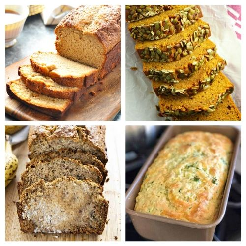 20 Easy Homemade Breads to Bake- These delicious homemade bread recipes are so easy to make and will win over a crowd in minutes. Bake them for any occasion and enjoy with a smile! | baked goods, baking recipes, homemade sandwich bread, homemade dessert bread, #homemade #bread #baking #recipe #ACultivatedNest