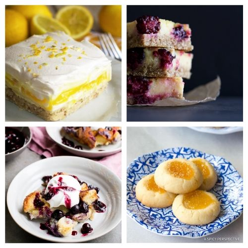 20 Incredible Baked Summer Desserts with Lemon- When you sink your teeth into these incredible lemon dessert recipes you will be amazed! The flavors are so deliciously bright and refreshing! | summer lemon recipes, citrus recipes, citrus desserts, #lemon #recipe #dessert #dessertRecipe #ACultivatedNest