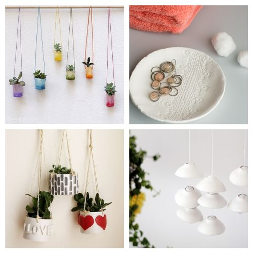 20 Air Dry Clay Decor Crafts- You are sure to love these 20 gorgeous air dry clay crafts! They will keep you busy and creating all sorts of fun stuff for your space!   decor to make with air dry clay, what to make with air dry clay, #crafts #DIY #airDryClay #diyDecor #ACultivatedNest