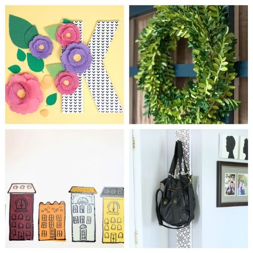 The 20 Best Cricut Decor DIYs- We have the ultimate list of the best Cricut DIY decor projects for you! They are a blast to work on and will add charm to your home!   Cricut Projects for your home, home decor DIYs, #cricut #cricutDIY #diyProjects #cricutProjects #ACultivatedNest