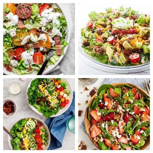 20 Incredible Summer Salad Recipes- You are going to love these incredible summer salads for every occasion! They are perfect for parties, get-togethers, and dinner! | #recipe #salad #healthyRecipes #summerRecipes #ACultivatedNest