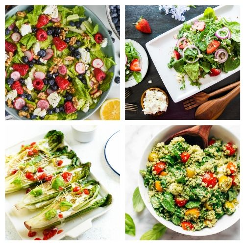 20 Summery Salad Recipes- You are going to love these incredible summer salads for every occasion! They are perfect for parties, get-togethers, and dinner! | #recipe #salad #healthyRecipes #summerRecipes #ACultivatedNest