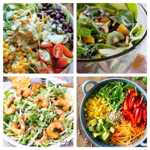 20 Incredible Summer Salads You Have to Try- You are going to love these incredible summer salads for every occasion! They are perfect for parties, get-togethers, and dinner! | #recipe #salad #healthyRecipes #summerRecipes #ACultivatedNest