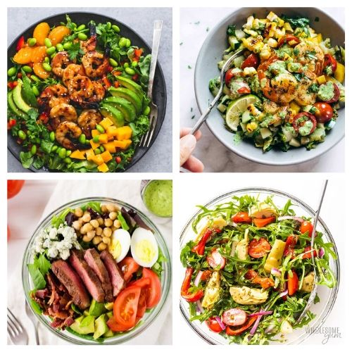 20 Incredible Salad Recipes for Summer- You are going to love these incredible summer salads for every occasion! They are perfect for parties, get-togethers, and dinner! | #recipe #salad #healthyRecipes #summerRecipes #ACultivatedNest
