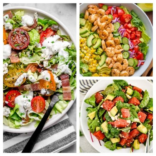 20 Incredible Summer Salads for Every Occasion- You are going to love these incredible summer salads for every occasion! They are perfect for parties, get-togethers, and dinner! | #recipe #salad #healthyRecipes #summerRecipes #ACultivatedNest