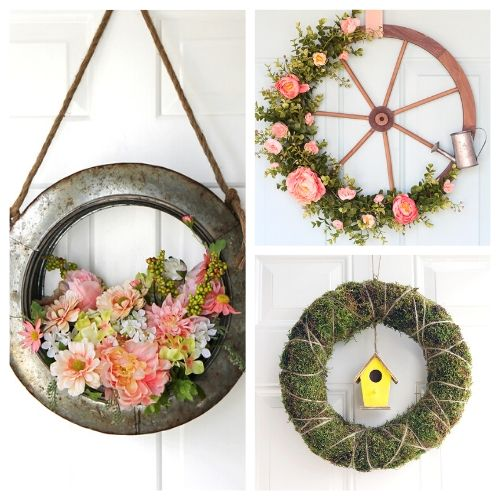 20 Beautiful DIY Summer Wreaths- Learn how to make these beautiful DIY summer wreaths! They are all gorgeous and a great way to add some summery style to your space! | #diyWreaths #wreaths #DIY #summerDecor #ACultivatedNest