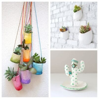 20 Gorgeous Air Dry Clay Crafts