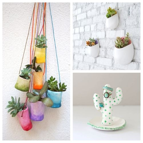 20 Gorgeous Air Dry Clay Crafts- You are sure to love these 20 gorgeous air dry clay crafts! They will keep you busy and creating all sorts of fun stuff for your space!   decor to make with air dry clay, what to make with air dry clay, #crafts #DIY #airDryClay #diyDecor #ACultivatedNest