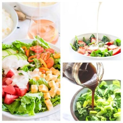 20 Drool-Worthy Homemade Salad Dressings