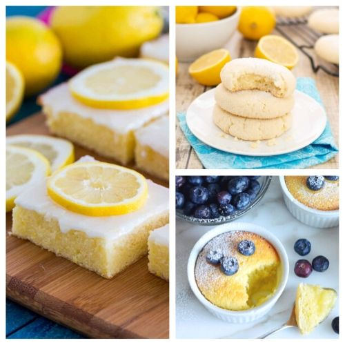20 Incredible Lemon Dessert Recipes- When you sink your teeth into these incredible lemon dessert recipes you will be amazed! The flavors are so deliciously bright and refreshing! | summer lemon recipes, citrus recipes, citrus desserts, #lemon #recipe #dessert #dessertRecipe #ACultivatedNest
