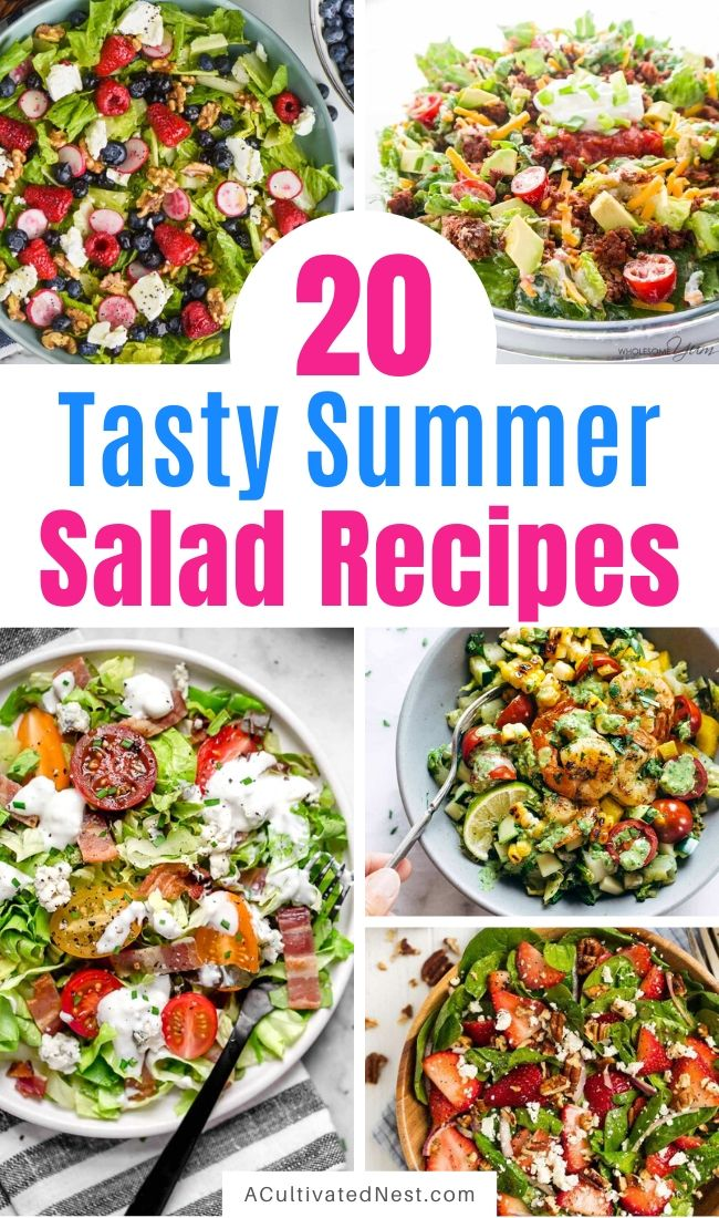20 Incredible Summer Salads for Every Occasion