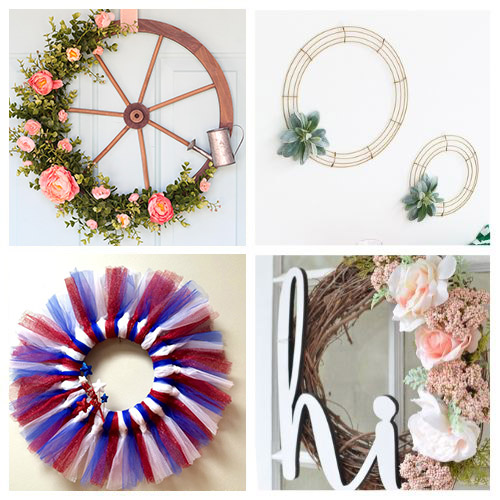 20 Beautiful Summer Wreath DIY Projects- Learn how to make these beautiful DIY summer wreaths! They are all gorgeous and a great way to add some summery style to your space! | #diyWreaths #wreaths #DIY #summerDecor #ACultivatedNest