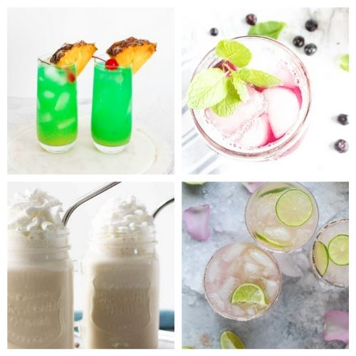 20 Refreshing Summer Drinks- Sip on some of these best refreshing summer drink recipes at your next get-together! They are all so delicious, and easy to make, too! | #summerDrinks #drinkRecipes #kidFriendlyDrinks #recipes #ACultivatedNest