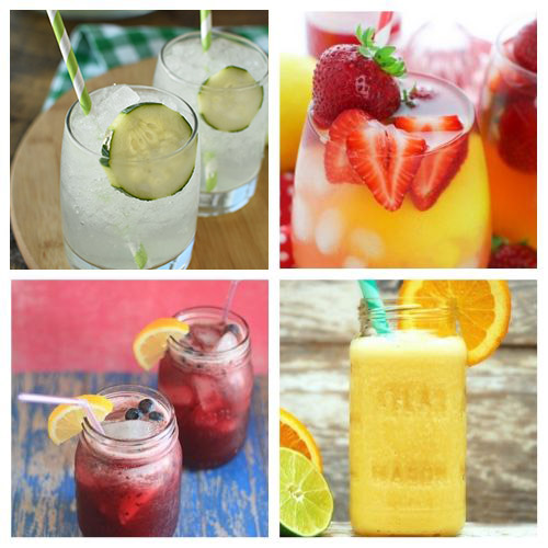 20 Refreshing Homemade Summer Drinks- Sip on some of these best refreshing summer drink recipes at your next get-together! They are all so delicious, and easy to make, too! | #summerDrinks #drinkRecipes #kidFriendlyDrinks #recipes #ACultivatedNest
