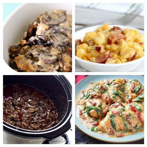 20 Delicious Slow Cooker Summer Recipes- Enjoy any of these summer slow cooker recipes without heating up your house! They are all delicious and make lovely dinner options!   chicken recipes, dinner ideas, #slowCooker #crockPot #dinnerRecipes #chickenRecipes #ACultivatedNest