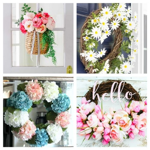 20 Gorgeous DIY Garden Wreaths- These DIY summer garden wreaths are lovely and will be so inviting and welcoming! Make them as homemade gifts or keep them for yourself! | #diy #wreaths #diyWreaths #crafts #ACultivatedNest