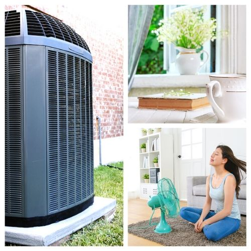 10 Easy Ways to Save Money on Air Conditioning- Stay cool on a budget this summer with these 10 easy ways to save money on air conditioning! They're all so easy to implement!   how to save money on A/C in the summer, how to use less air conditioning in the summer, #airConditioning #saveMoney #moneySavingTips #frugalLiving #ACultivatedNest