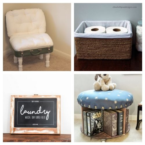 20 Creative Repurposed DIY Decor Ideas- These creative upcycled DIY decor ideas are a blast to make, and are a great way to repurpose items you'd throw out! | repurposed decor projects, #upcycle #repurpose #reuse #diyProject #ACultivatedNest