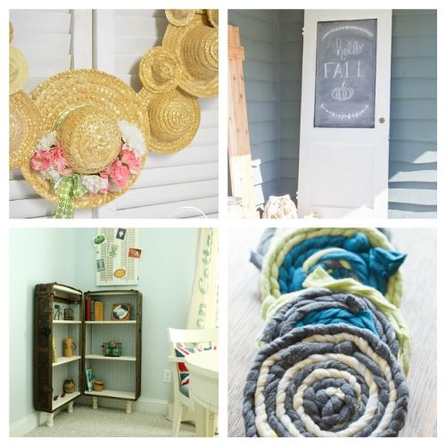 20 Creative Repurposed Decor DIYs- These creative upcycled DIY decor ideas are a blast to make, and are a great way to repurpose items you'd throw out! | repurposed decor projects, #upcycle #repurpose #reuse #diyProject #ACultivatedNest
