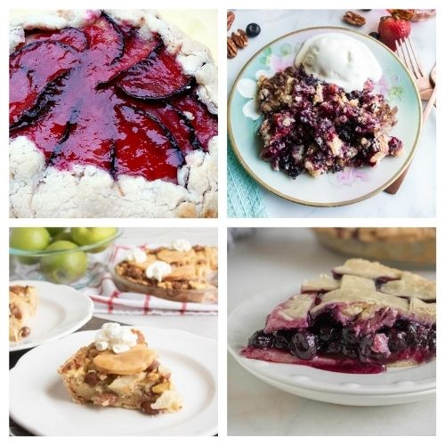 20 Incredible Baked Fruit Desserts- If you want a delicious way to use in-season fruit, you have to try these incredible baked fruit dessert recipes! They're all so tasty and smell wonderful! | #recipe #dessert #fruit #baking #ACultivatedNest