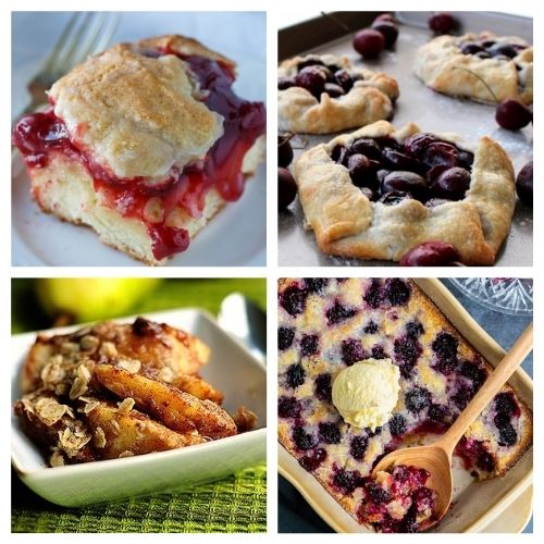 20 Incredible Baked Dessert Recipes Using Fruit- If you want a delicious way to use in-season fruit, you have to try these incredible baked fruit dessert recipes! They're all so tasty and smell wonderful! | #recipe #dessert #fruit #baking #ACultivatedNest