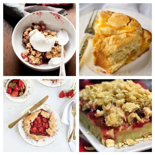 20 Incredible Baked Recipes Using Fruit- If you want a delicious way to use in-season fruit, you have to try these incredible baked fruit dessert recipes! They're all so tasty and smell wonderful! | #recipe #dessert #fruit #baking #ACultivatedNest