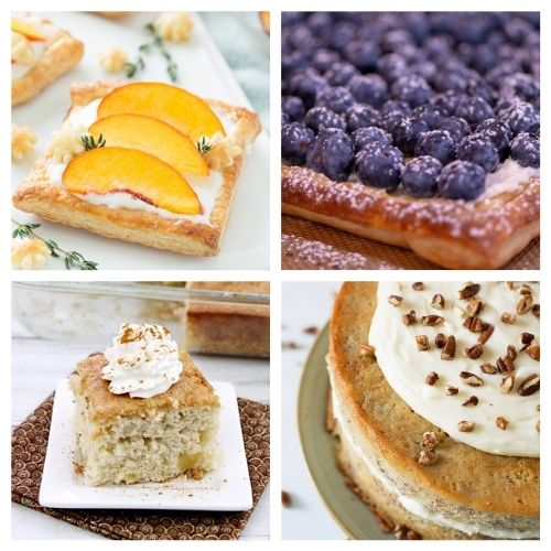 20 Incredible Baked Desserts Using Fruit- If you want a delicious way to use in-season fruit, you have to try these incredible baked fruit dessert recipes! They're all so tasty and smell wonderful! | #recipe #dessert #fruit #baking #ACultivatedNest