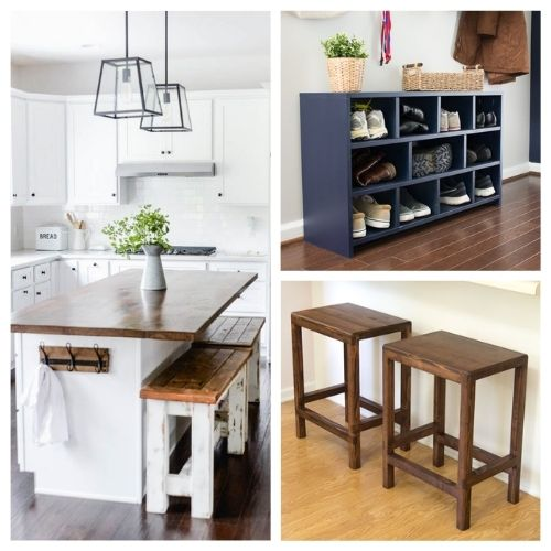 20 Magnificent DIY Wood Furniture Ideas- These 20 magnificent DIY wood furniture ideas will help you update your home's décor on a budget! There are so many great ideas to try! | #DIY #diyProjects #diyFurniture #diyDecor #ACultivatedNest