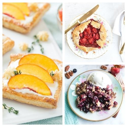 20 Incredible Baked Fruit Dessert Recipes- If you want a delicious way to use in-season fruit, you have to try these incredible baked fruit dessert recipes! They're all so tasty and smell wonderful! | #recipe #dessert #fruit #baking #ACultivatedNest