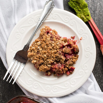 Delicious Rhubarb Crumble Recipe