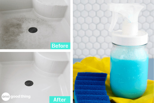 10 Homemade Bathroom Cleaning Products- These incredible DIY bathroom cleaning products are inexpensive, easy to make, and will leave your bathroom fresh and clean! | #homemadeCleaningProducts #diyCleaners #bathroomCleaning #cleaningTips #ACultivatedNest