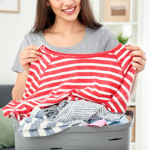 12 Incredibly Clever Laundry Hacks- Make washing and drying clothes less of a chore with these incredibly clever laundry hacks! They'll save you time and money! | #laundry #hacks #cleaningTips #frugalLiving #ACultivatedNest