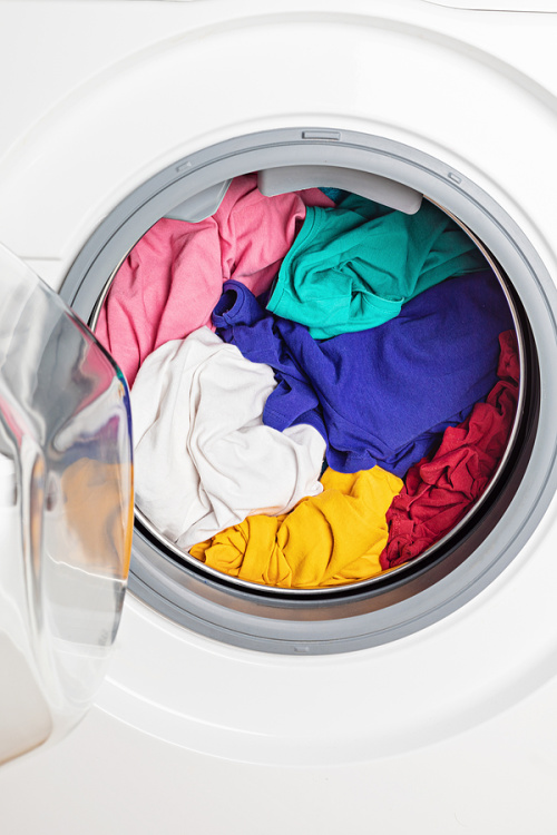 12 Money Saving Laundry Hacks- Make washing and drying clothes less of a chore with these incredibly clever laundry hacks! They'll save you time and money! | #laundry #hacks #cleaningTips #frugalLiving #ACultivatedNest