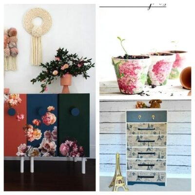20 Creative Decoupage DIY Projects