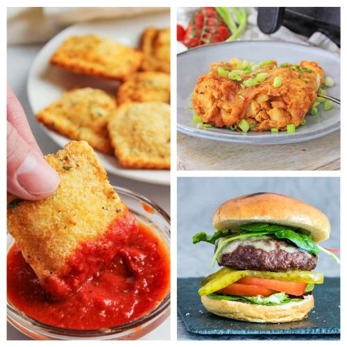 20 Easy Air Fryer Dinner Recipes- These easy air fryer dinner recipes are crave-worthy and utterly delicious! Give them a try to add some fun to your dinner table! | #recipe #airFryer #dinner #airFryerRecipes #ACultivatedNest