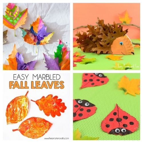 20 Creative Kids Fall Leaf Crafts- These creative fall leaf kids crafts are great for kids of all ages! You just need some basic supplies and can begin making memories! | #crafts #kidsCrafts #fallCrafts #kidsActivities #ACultivatedNest