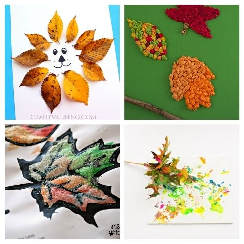20 Creative Fall Leaf Kids Activities- These creative fall leaf kids crafts are great for kids of all ages! You just need some basic supplies and can begin making memories! | #crafts #kidsCrafts #fallCrafts #kidsActivities #ACultivatedNest