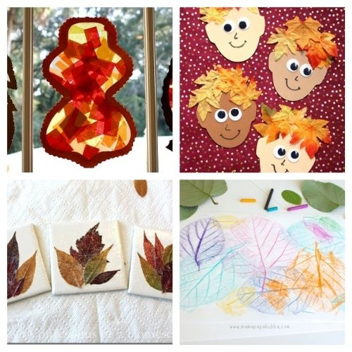 20 Creative Fall Leaf Crafts for Kids- These creative fall leaf kids crafts are great for kids of all ages! You just need some basic supplies and can begin making memories! | #crafts #kidsCrafts #fallCrafts #kidsActivities #ACultivatedNest