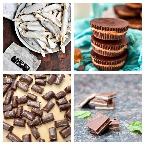 How to Make Candy from Scratch- You are bound to be drooling after checking out this list of delicious homemade candy recipes! They're perfect for all occasions! | #candy #HalloweenRecipes #recipes #homemadeCandy #ACultivatedNest