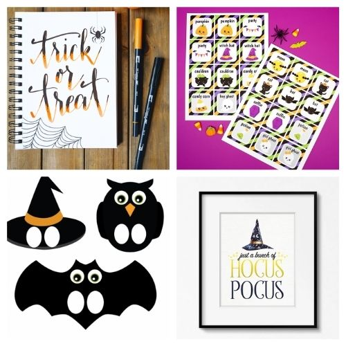 20 Spooky Free Halloween Printables- These spooky Halloween free printables are the perfect way to update your décor for Halloween, or find fun free activities for your kids! | #freePrintables #Halloween #HalloweenPrintables #kidsActivities #ACultivatedNest