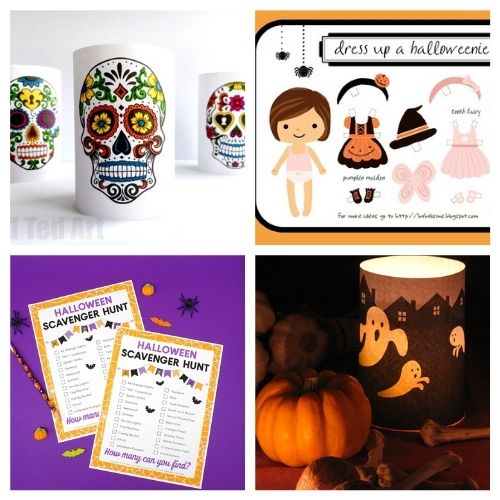 20 Spooky Free Printables for Halloween- These spooky Halloween free printables are the perfect way to update your décor for Halloween, or find fun free activities for your kids! | #freePrintables #Halloween #HalloweenPrintables #kidsActivities #ACultivatedNest