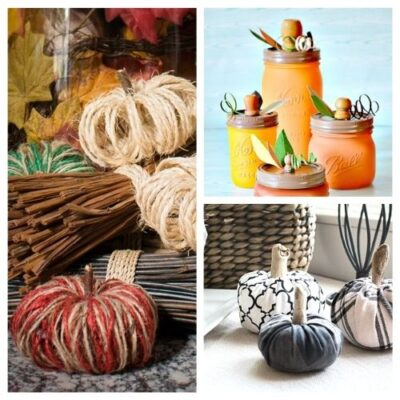 20 Beautiful Fall Pumpkin Decor DIYs