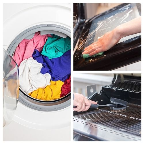 11 Clever Ways to Use Washing Soda- Check out these clever ways to use washing soda for inexpensive natural cleaning options that will leave your home sparkling clean!   ways to use washing soda, clever home cleaning hacks, #cleaningTips #cleaning #cleaningHacks #frugalLiving #ACultivatedNest