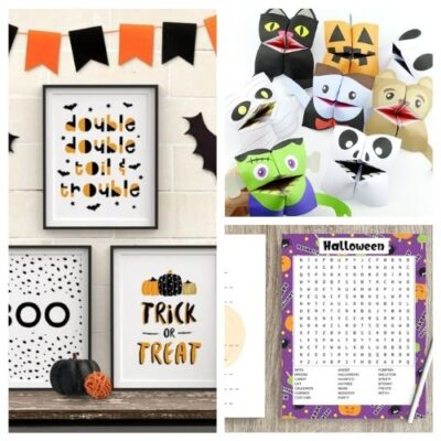 20 Spooky Halloween Free Printables