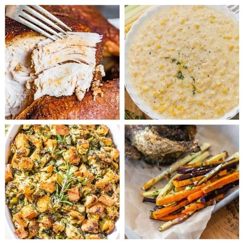20 Thanksgiving Recipes- These traditional Thanksgiving dinner recipes will leave your holiday table looking stunning and your guests happy! | #recipes #Thanksgiving #ThanksgivingDinner #ThanksgivingRecipes #ACultivatedNest