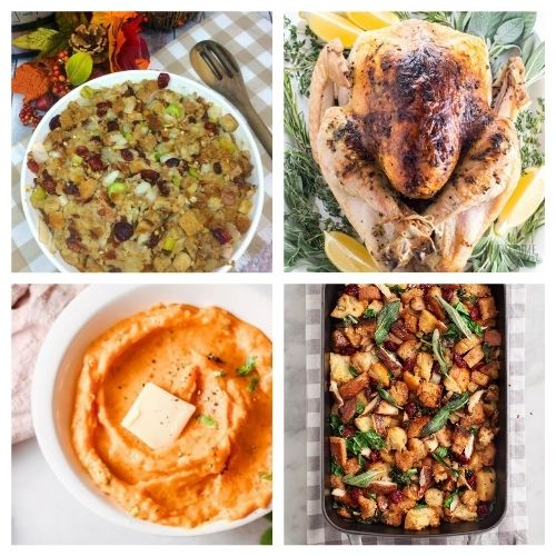 20 Delicious Dinner Recipes for Thanksgiving- These traditional Thanksgiving dinner recipes will leave your holiday table looking stunning and your guests happy! | #recipes #Thanksgiving #ThanksgivingDinner #ThanksgivingRecipes #ACultivatedNest