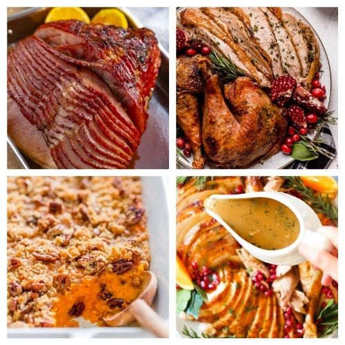 20 Delicious Recipes for Your Thanksgiving Dinner- These traditional Thanksgiving dinner recipes will leave your holiday table looking stunning and your guests happy! | #recipes #Thanksgiving #ThanksgivingDinner #ThanksgivingRecipes #ACultivatedNest