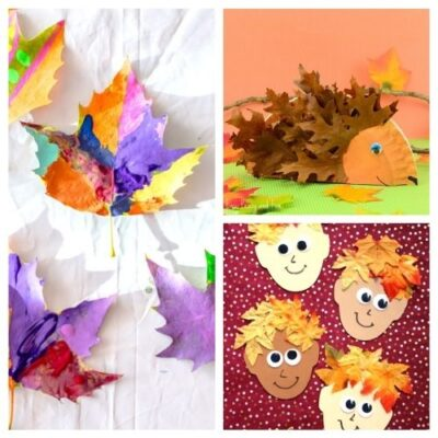 20 Creative Fall Leaf Kids Crafts