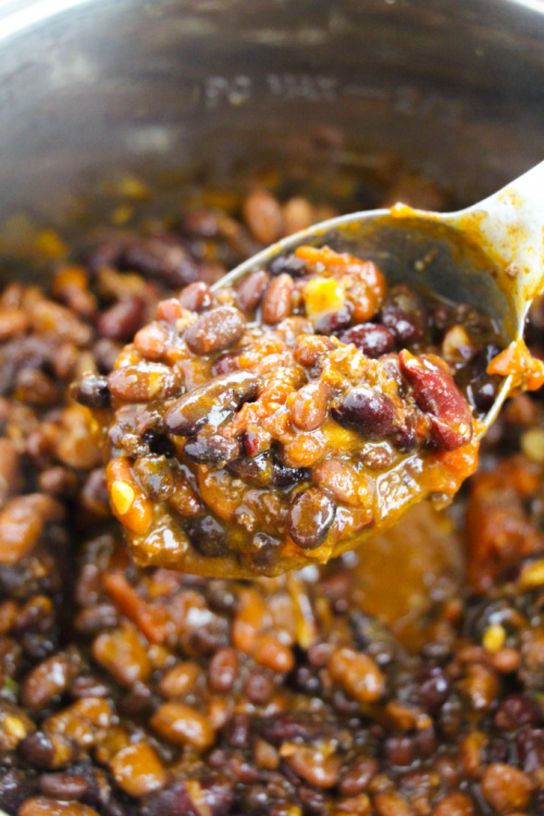 Hearty Chili Recipe for the Instant Pot- This hearty Instant pot chili recipe is easy to make and great for all occasions. Plus, it'll warm you up on a cold day!   #chili #recipe #instantPotRecipes #instantPot #ACultivatedNest